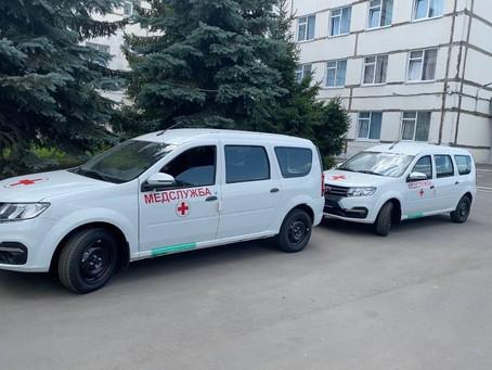 Более 100 автомобилей для неотложной помощи появились в поликлиниках Подмосковья.