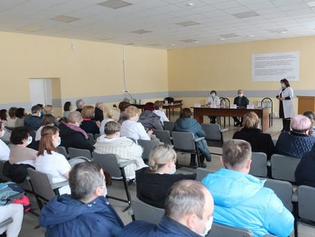 В  Луховицкой ЦРБ прошло собрание по итогам работы за 2020 год