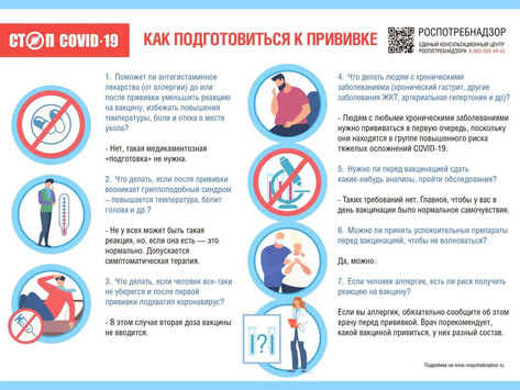 Как подготовиться к прививке