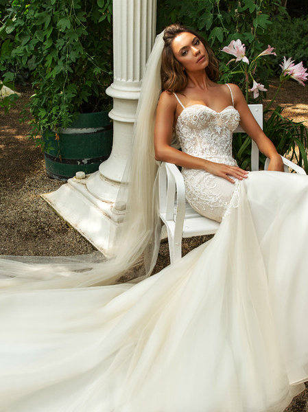 Wona Concept Jaclyn wedding dress side - Superior Bridal Couture Toronto