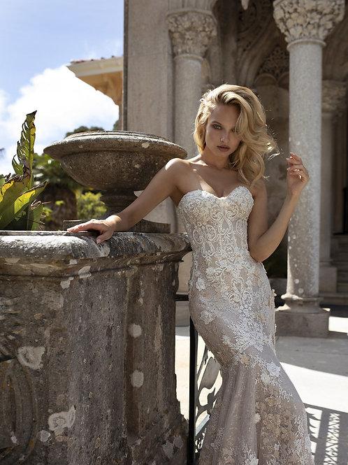 Eva Lendel lace mermaid dress