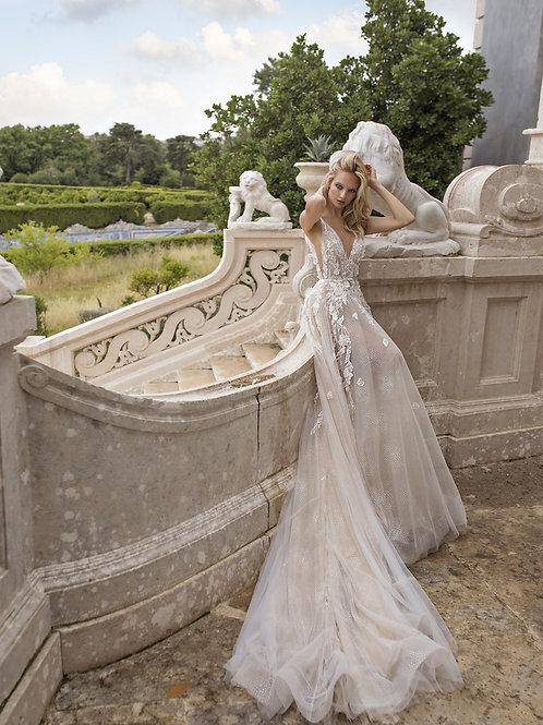 Eva Lendel Elen wedding dress back