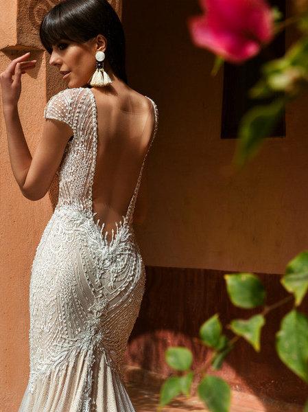 Wona Concept Liberty wedding dress back 2 - Superior Bridal Couture Toronto