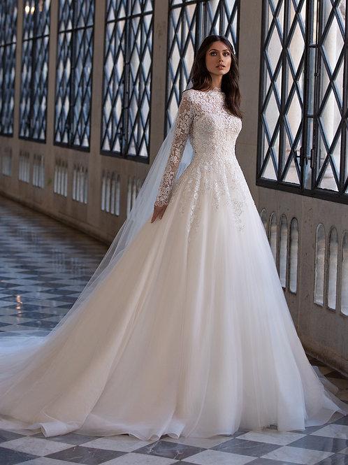 Pronovias Landsbury wedding dress