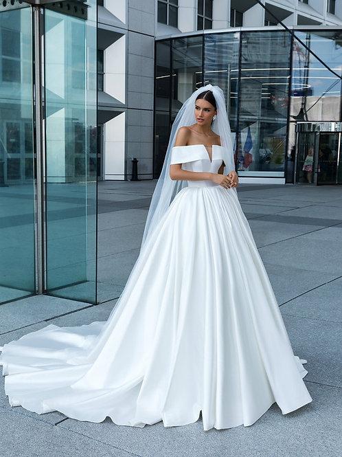 Wona Concept Claide wedding dress front - Superior Bridal Couture Toronto