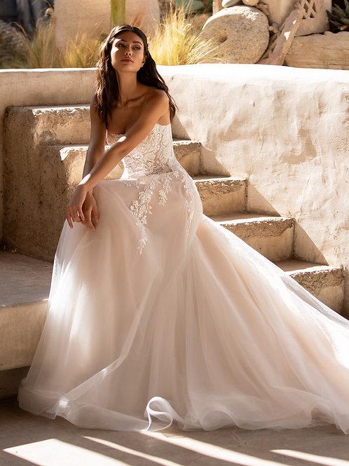 Pronovias Baker A line wedding dress