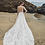calla blanche Joanne wedding dress back