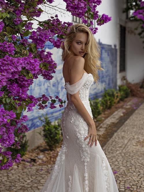Eva Lendel Lima mermaid wedding dress