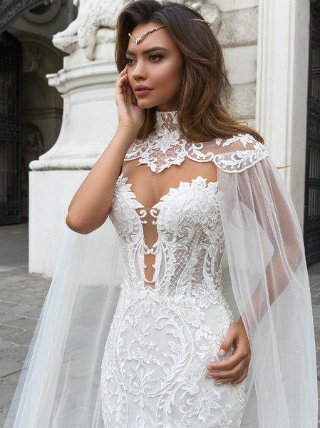 Wona Concept Gia wedding dress front - Superior Bridal Couture Toronto