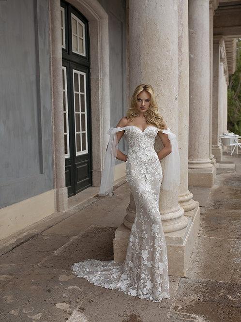 Eva Lendel wedding dress front