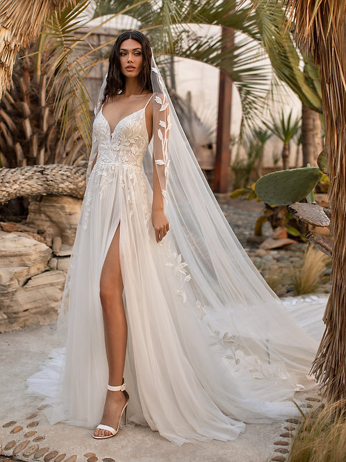 Pronovias Anderson wedding dress