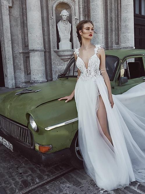 L'amour solange wedding dress