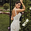 Calla Blanche Farrah wedding dress side