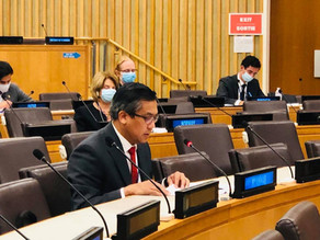 Statement by Ambassador Kyaw Moe Tun at the General Debate of the First Committee of the 76th UNGA