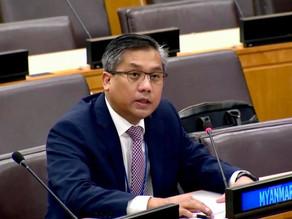 Statement by Ambassador Kyaw Moe Tun on Agenda Item 83 at the Sixth Committee of 76th UNGA