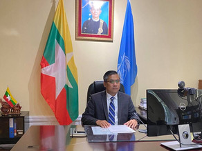 Intervention by Ambassador Kyaw Moe Tun at Third Committee of 76 UNGA on Human Rights (13 Oct 2021)