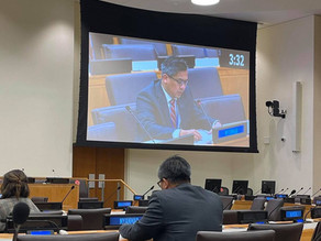 Statement by Ambassador Kyaw Moe Tun on Agenda Item 86 at the Sixth Committee of the 76th UNGA