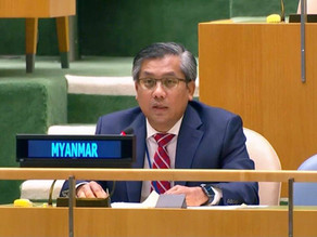 Statement by Ambassador Kyaw Moe Tun at the General Debate of the Second Committee of the 76th UNGA