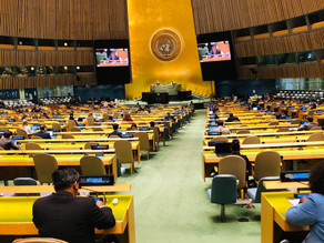 Statement by Ambassador Kyaw Moe Tun on Combined clusters 1, 2 and 4 at First Committee of 76th UNGA
