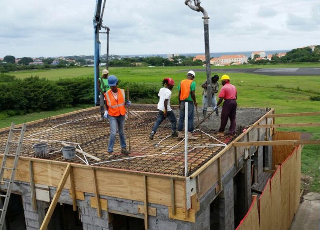 Construction of a New Library Building