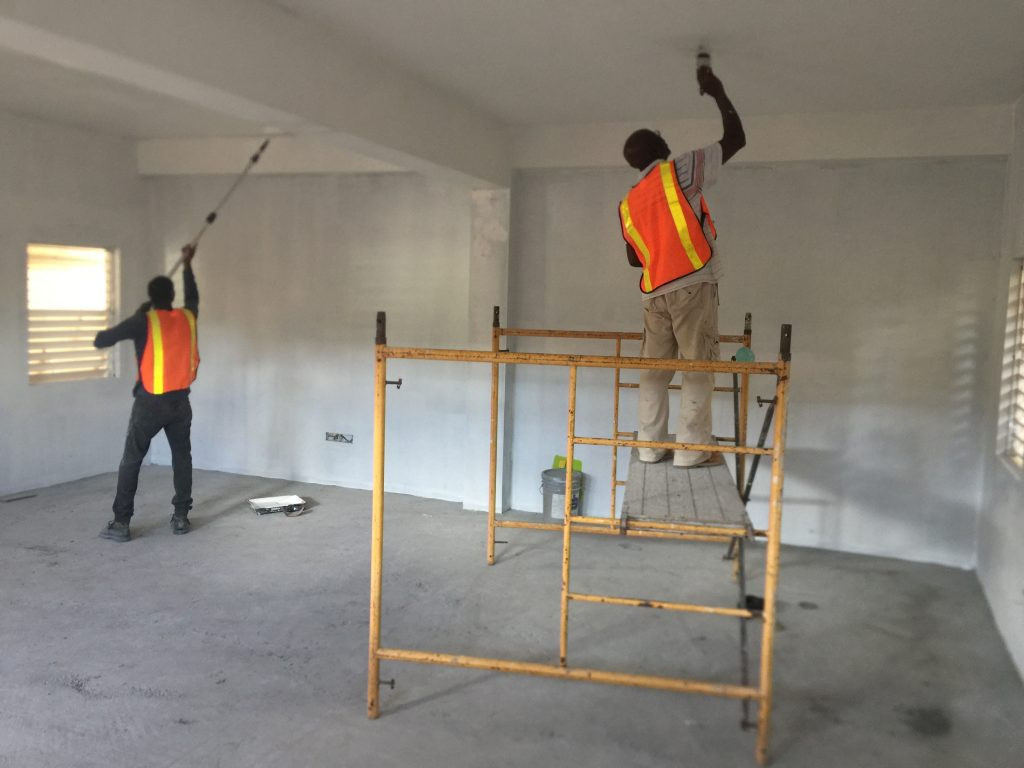 Construction of New Library Room