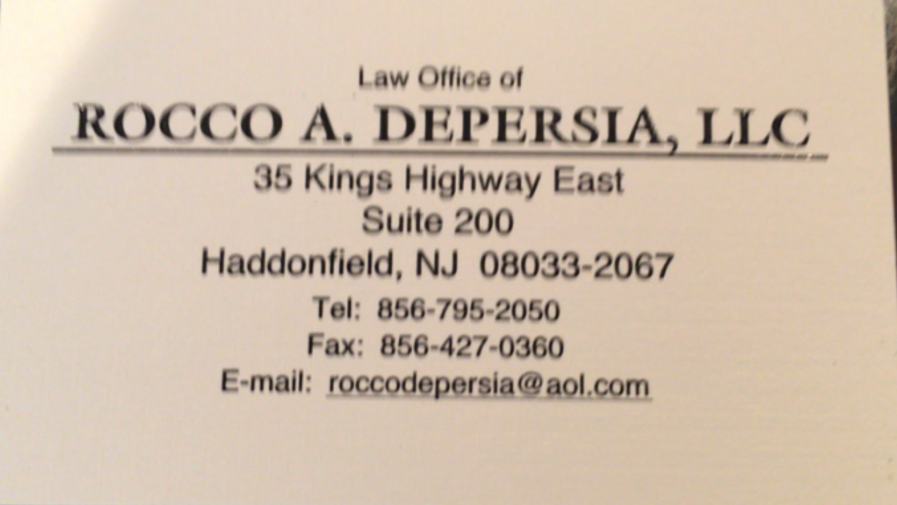 Law Office Of Rocco Depersia