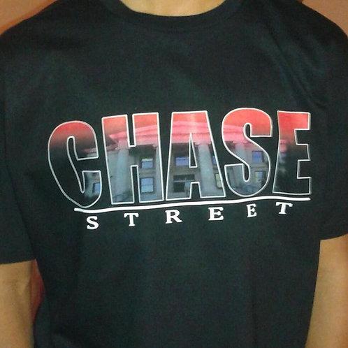 Black Chase Street T-Shirt
