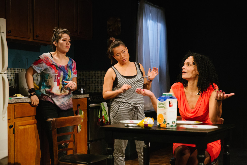 Sueann Leung Costume Design - The Surgeon and Her Daughters