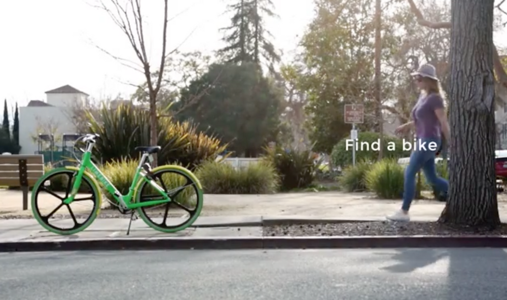 (Screenshot from Lime Bike's How-To video)