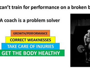 Health is the Foundation to Performance