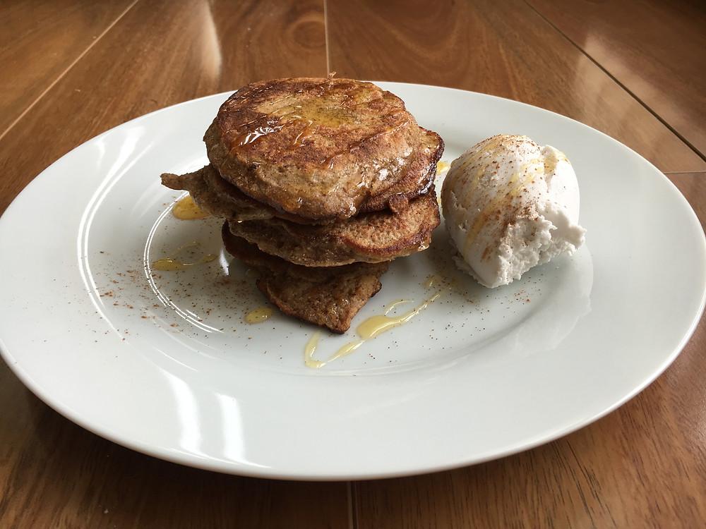 Banana Pancakes Total Health Performance Nutrition Healthy Recipes Camden Narellan Ingleburn Campbelltown