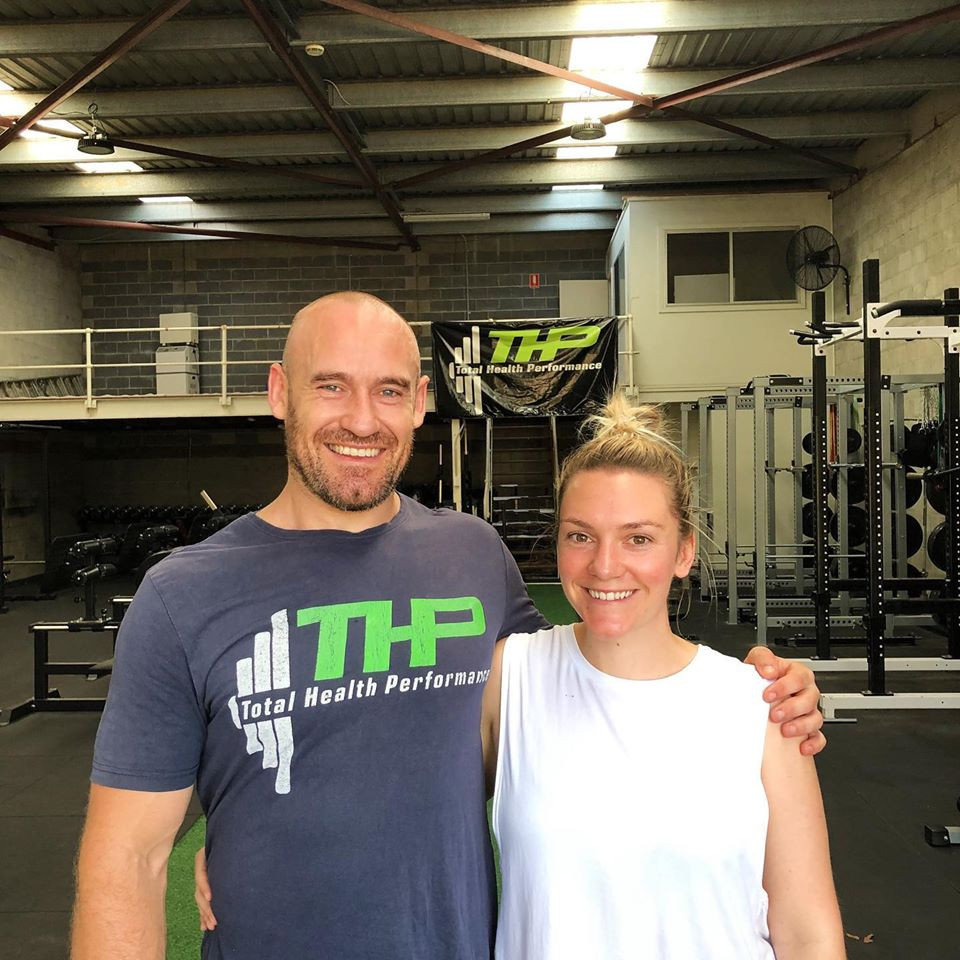 Gemma and Nathan Waters THP Total Health Performance Narellan
