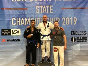 Double Gold at NSW Jiu-Jitsu State Titles