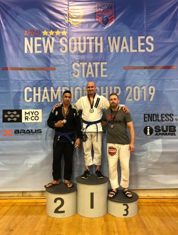 Jiu-Jitsu gold medal Total Health Performance SJJA Narellan