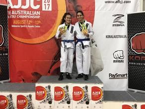 Australian National Jiu Jitsu Champions - Garces Gals