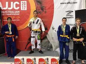 Australian National Jiu Jitsu Champion - Simon Chandra