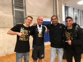 Gold at NSW State Championships - No Gi