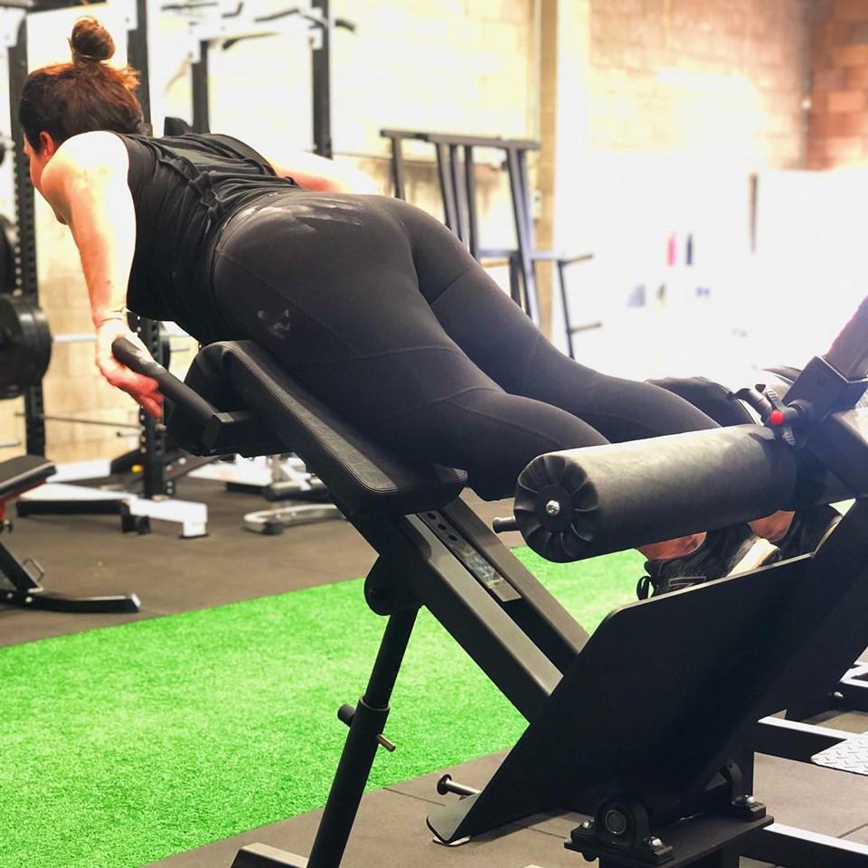 Total health performance Narellan 45 Degree Back Extension Watson gym equipment
