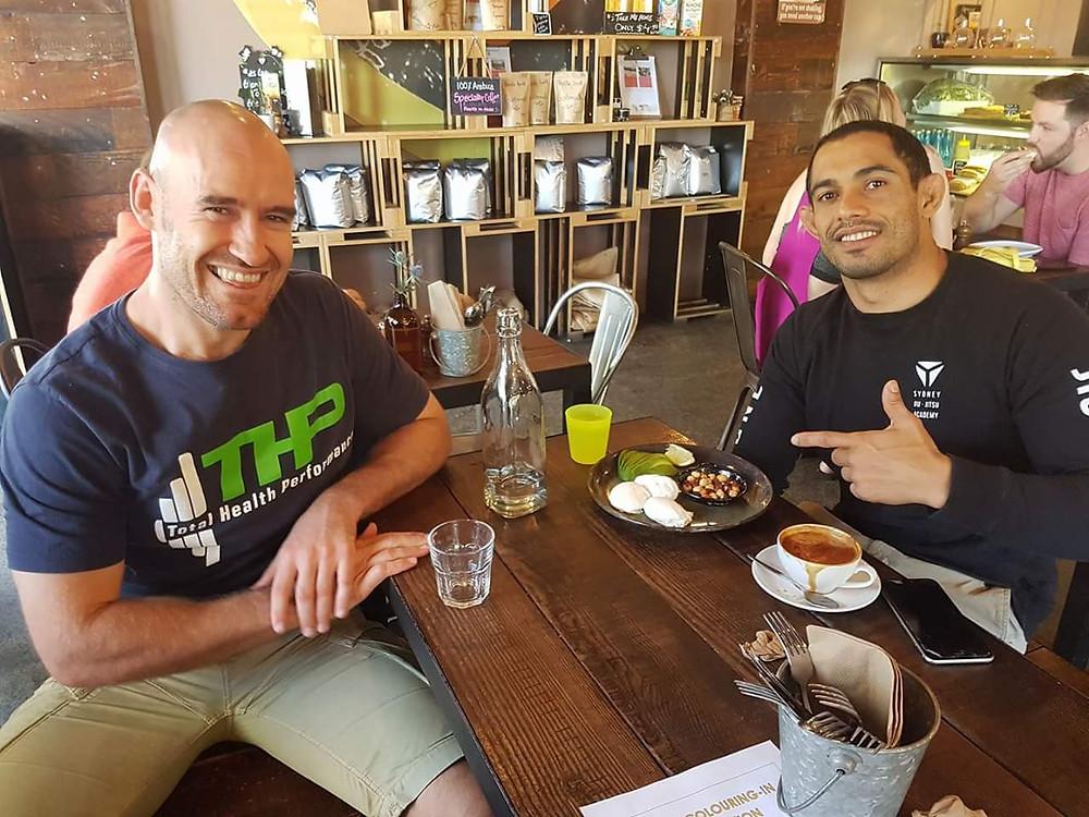 Jiu-Jitsu World Champion Bruno Alves and Nathan Waters SJJA Total Health Performance