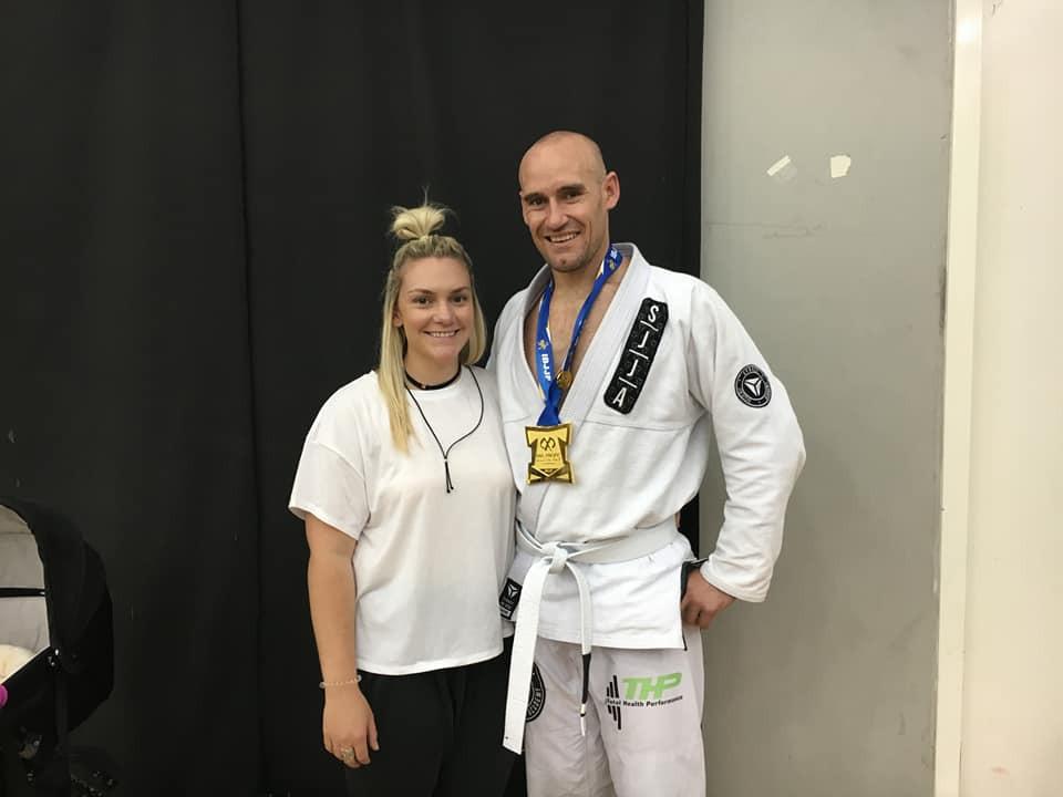 Total Health Performance Nathan Waters Gemma Smith Pan Pacs 2017 JiuJitsu Champion Camden