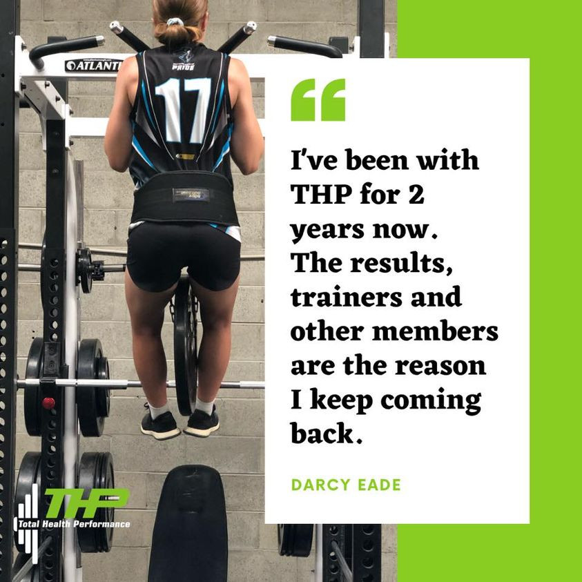 THP Total Health Performance Narellan Strength and Conditioning Rugby League