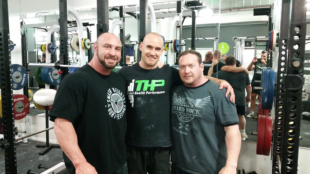 Ed Coan, Paul Carter, Nathan Waters Total Health Performance Powerlifting, strength training, Camden, Narellan, Ingleburn, Campbelltown