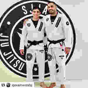 Igor Almeida Bruno Alves Jiu-Jitsu Black belt SJJA Total Health Performance Crows Nest Narellan
