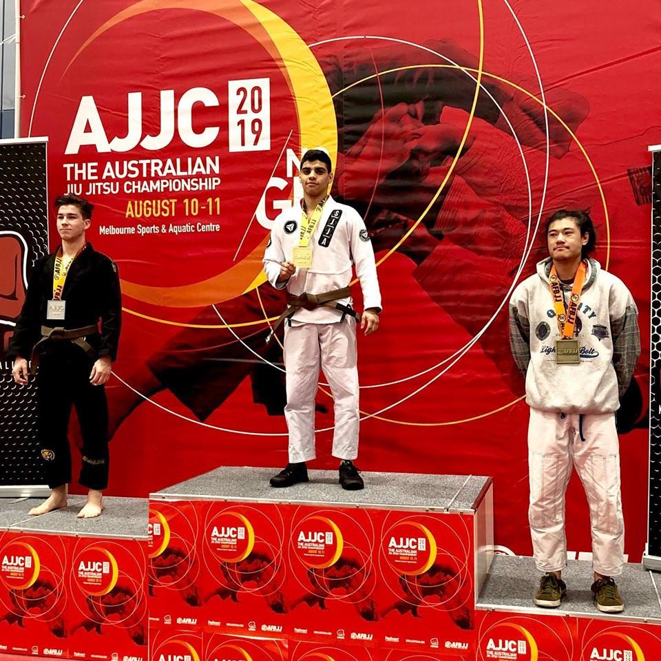 Igor Almeida Gold Australian Nationa Jiu-Jitsu Championship Total Health Performance SJJA Narellan Crows Nest