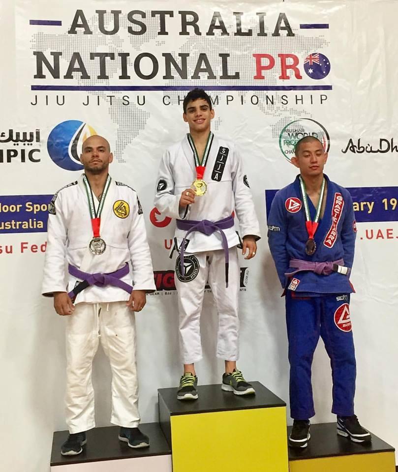 Jiu-Jitsu Champion Igor Almeida Total Health Performance Narellan