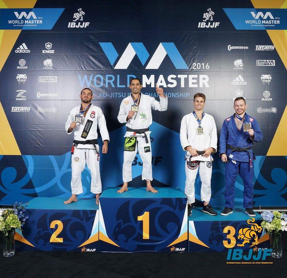 THP Jiu Jitsu World Masters Champ Bruno Alves