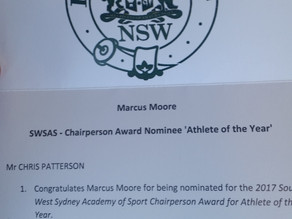 SWSAS Athlete Of The Year Nominee