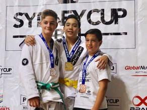 Gold at Sydney Cup BJJ 2017 - Simon Chandra