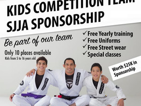 Kids Competition Team Sponsorship