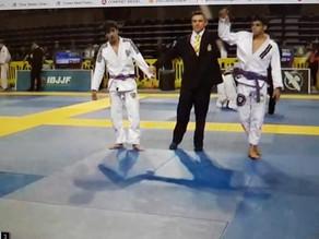 3rd Place Finish at Pan American JiuJitsu Championship in California